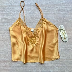 Vintage Deadstock Sunflower Yellow Camisole NWT